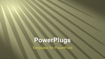 PowerPoint Template - Light rays background
